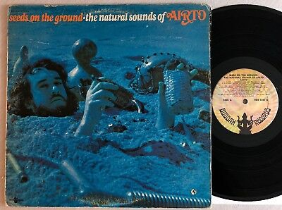 Airto ‎LP Seeds On The Ground 1971 Buddah BDS5085 gatefold orig Brazil fusion