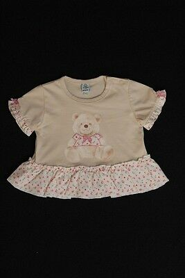 T-shirt fille Taille 6 mois 100% coton NEUF