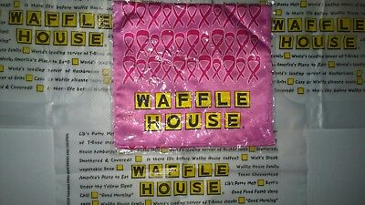 Authentic Waffle House Rare Breast Cancer Awareness Neck Tie Scarf