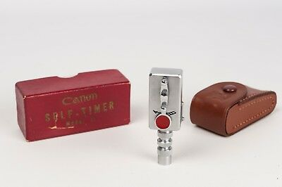 Canon Self- TimerModel II box, case and instructions