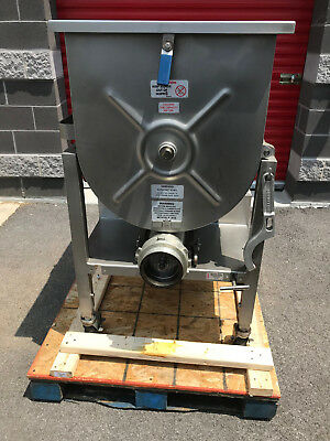 2011 Hollymatic GMG180A #52 Stainless Mixer Grinder 10hp (FULLY REFURBISHED)