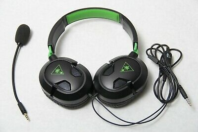 Turtle Beach Ear Force Recon 50X Stereo Gaming Headset Headphones Xbox One Black