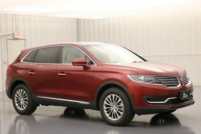 Lincoln MKX SELECT PLUS AWD 3.7 V6 NAVIGATION PANORAMIC ROOF MSRP $49760 RUBY RED METALLIC MKX CROSSOVER AWD MOONROOF