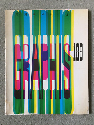Graphis magazine Issue 189: 1977/78: Used/Cond average/some water damage/REDUCED