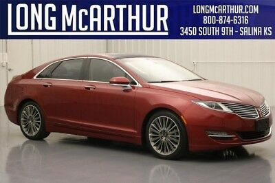 Lincoln MKZ/Zephyr RUBY RED HYBRID RESERVE PANORAMIC ROOF TECH PACKAGE LOCAL CAR 2013 HYBRID MKZ PANORAMIC ROOF HEATED REAR SEATS ADAPTIVE CRUISE