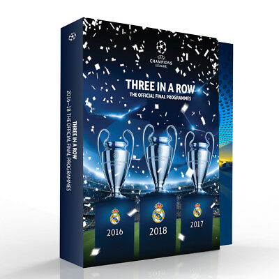 Real Madrid - UEFA Champions League Final Programme's - Limited Edition Box Set