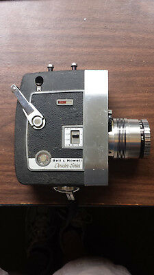 Bell and Howell Director Series Zoomatic 8mm Movie Camera