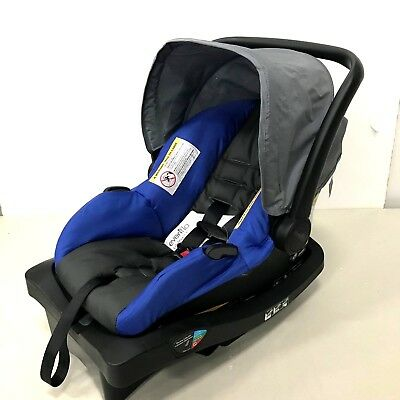 Evenflo LiteMax 35 Rear Facing Infant Baby Car Seat with Easy Connect Base, Blue