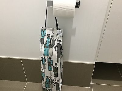 Tops In Fashion, Hanging, 5 Toilet Roll Holder, Handmade, (4)