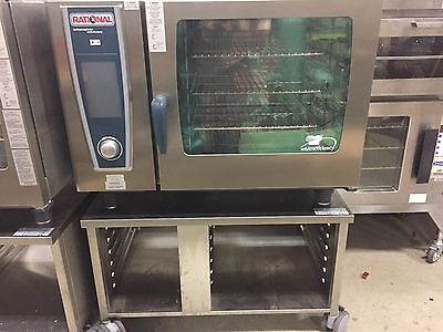 Demo Rational SCC WE 62NG Electric Combi Oven 208 3 Ph 1 Year factory warranty