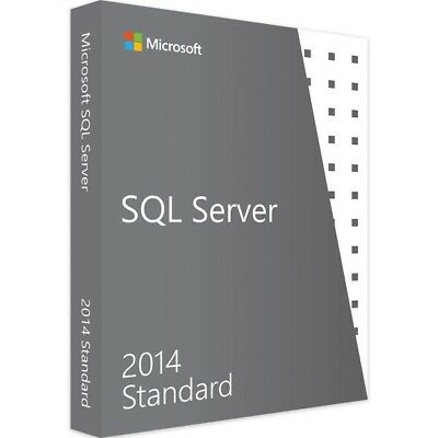 Microsoft SQL Server 2014 Standard - Vollversion - Download
