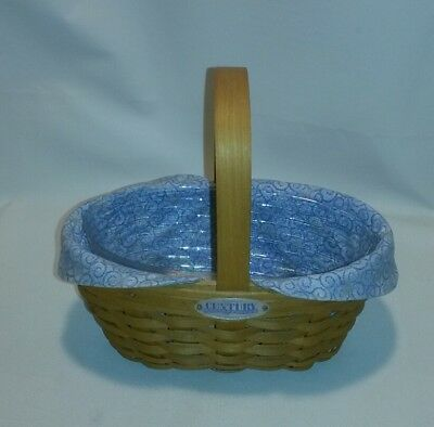 ☆ 2000 Longaberger Century Cheers Basket With Protector And Liner F/ship