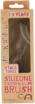 Jack N' Jill Silicone Tooth & Gum Brush Stage 3 (2 - 5 Years)