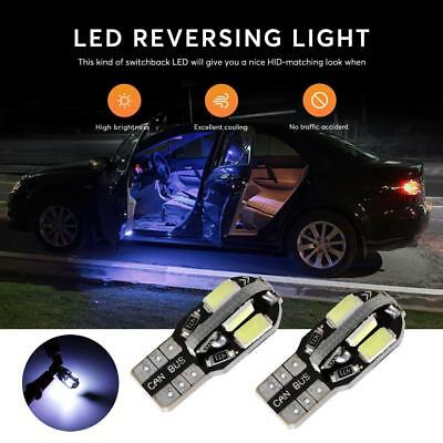 10X Canbus Error Free 6000K White T10 5630 8SMD Led Dome License Plate Lights US