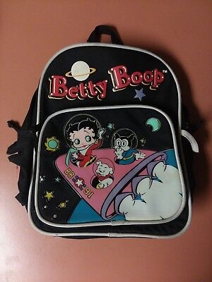 Betty Boop Mini 11 1/2 inch Outerspace Backpack