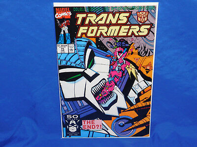 Transformers (Marvel) 1st Printing #75 1991 FN/VF 7.0