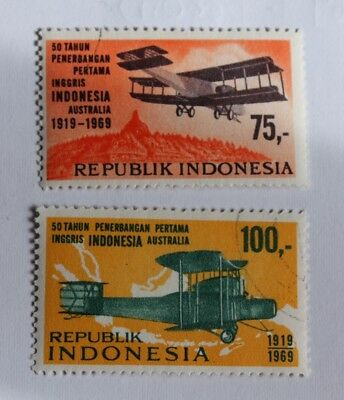Assortment Of Indonesian Stamps