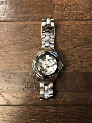 Fossil Star Wars Storm Trooper Stainless Steel Watch 0929/3000 limited edition