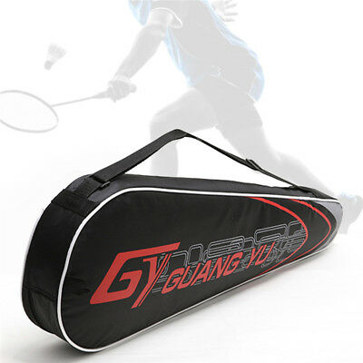 Badminton Racket Racquet Carry Bag Zipper 2-3 Rackets Storage Handbag Squash Bag