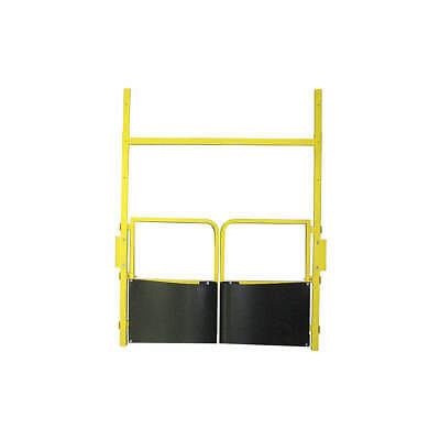 PS DOORS Mild Steel Pallet Safety Gate,Manual,5 ft., PLG-6084