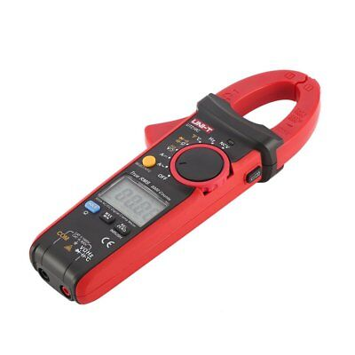 UNI-T Digital Clamp Meter Multimeter Volt Amp Ohm NCV Tester 600A True RMS SQ