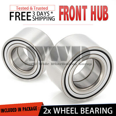2x Replacement Front Wheel Hub Bearing Left + Right For 2000-2005 Toyota Echo