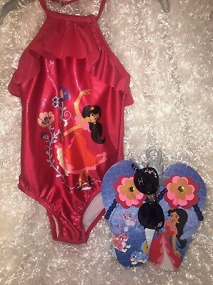 a6f8ddc290c77 DISNEY Store SWIMSUIT size 3, sunglasses and flip flops ELENA OF AVALOR NWT.