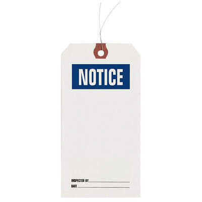 GRAINGER APPROVED Inspection Tag,Paper,Notice,PK1000, 1HAB7
