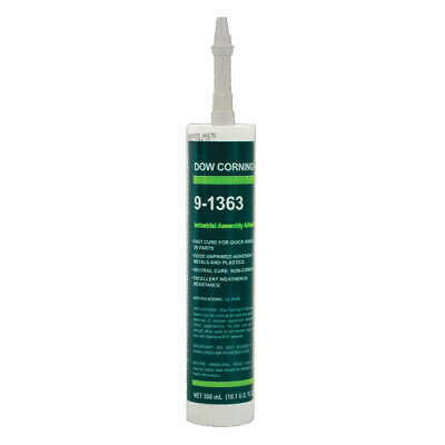 DOW CORNING Adhesive,Sealant Grouping,Whites, 4001705, White