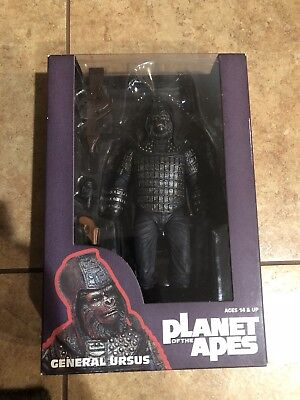 NECA Planet of The Apes Classic Series 2 GENERAL URSUS Action Figure New