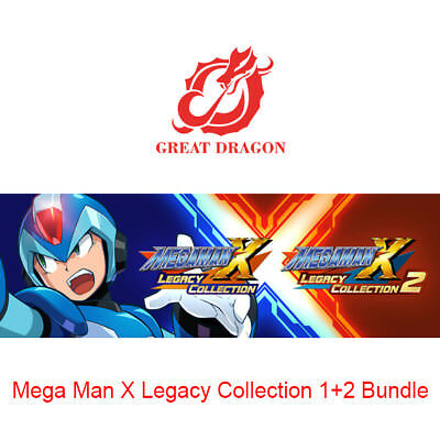 [Contact Before Purchase] Mega Man X Legacy Collection 1+2 Bundle [PC Global]