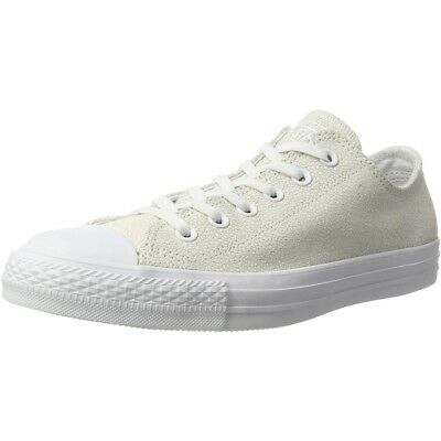12977c12a4c8 Converse Chuck Taylor All Star Stingray Metallic Ox White Leather Adult  Trainers