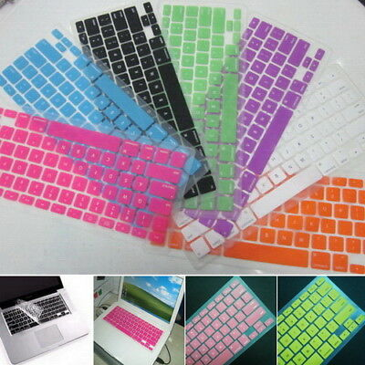 Keyboard Skin Cover Protector for Apple Mac & MacBook Air Pro 13 15 17 Touch Bar
