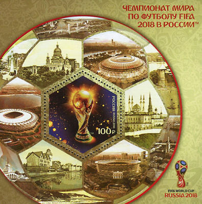 Stamp of RUSSIA 2018 - FIFA Football World Cup Russia