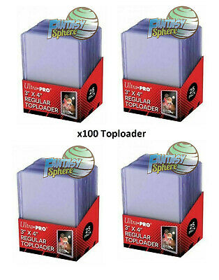 Pokémon Yu-Gi-Oh Magic 100 protections Cartes Rigide Ultra PRO REGULAR Toploader