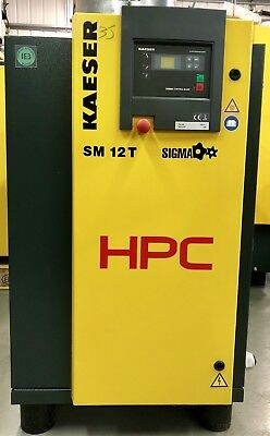 HPC / Kaeser SM12T Rotary Screw Compressor With Dryer! 7.5Kw, Immacuate! Low Hrs