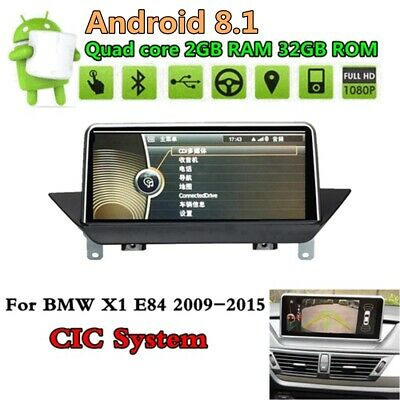 """10.25"""" Android 7.1 Car Multimedia Player GPS For BMW X1 E84 2009-2015 CIC"""