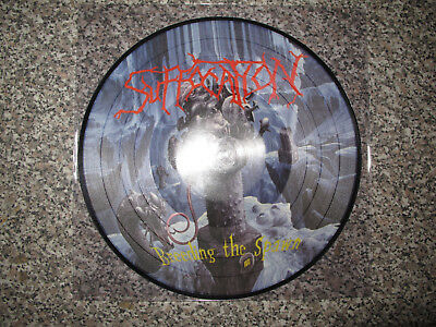 Suffocation -Breeding the spawn- Picture LP