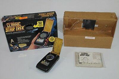 Classic STAR TREK Communicator -1994- (Playmates) 100% komplett mit OVP