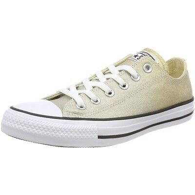 8de08106d9a8 Converse Chuck Taylor All Star Ombre Metallic Ox Light Gold Synthetic Adult