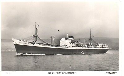 Carte Postale - Bateau - Ship - Boat - S.S. City of Bedford