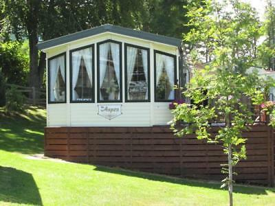 Willerby Aspen 37ft by 12ft 2004 Sited Causey Hill Holiday Park Hexham