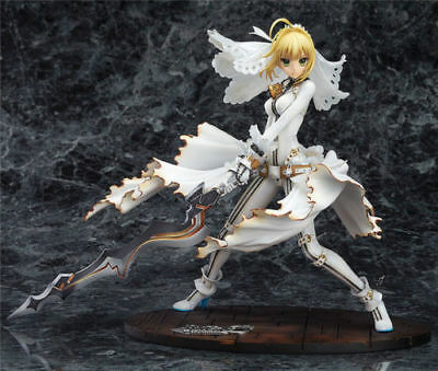 Anime Fate EXTRA night CCC Saber Bride PVC Figure Collection New No Box 22cm