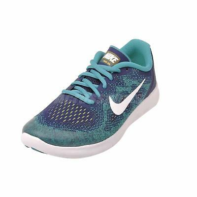 f7635bb16800 Nike Free RN 2017 GS Women s SZ 8 Youth SZ 6.5 Running Shoes Blue 904255