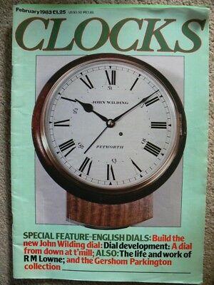 Clocks. Magazine. February 1983