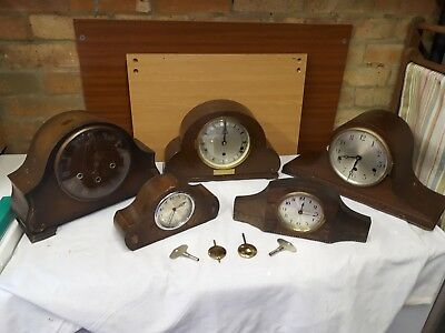 Job Lot of Antique and vintage Clocks (stored for over 40yr's)