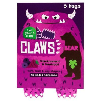Bear Claws Blackcurrant Beetroot 5 x 18g