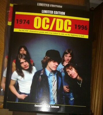 Ac/dc - Oc/dc - Collectors Book - 480 Pages - Limited Edition - Not Rsd 2018