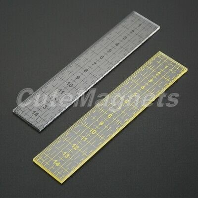 1pc Quilting Ruler Rectangle Clothing Design Acrylic Patchwork Cutting Ruler