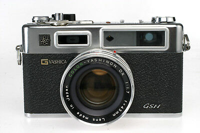 Yashica Electro 35 GSN + Yashinon 1,7 / 45 mm, fully working Condition( tested )